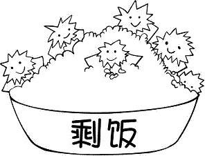 水果间笔画-餐桌美食简笔画-剩菜健康回锅小妙招