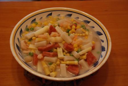 什锦年糕汤