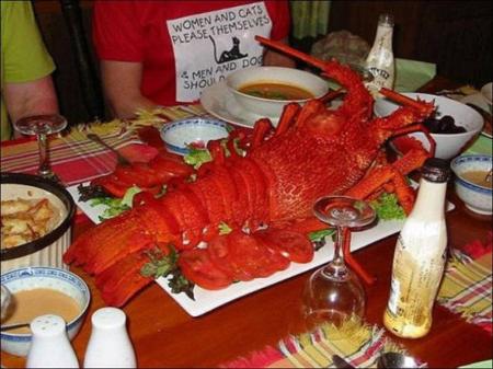 世界最大龙虾每只够吃一周1