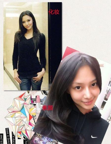 爆红网络台湾6美女 化妆素颜前后大对比