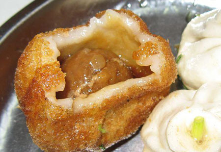 无锡小吃之玉兰饼