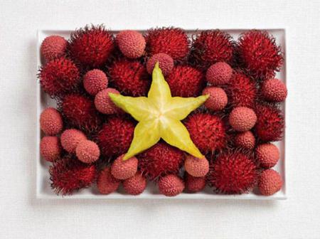 越南:红毛丹,荔枝,杨桃