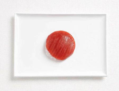 日本:米饭,金枪鱼