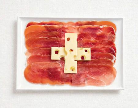 瑞士:猪肉,瑞士干酪