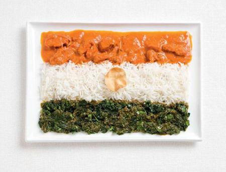 印度:咖喱,米饭,抛饼