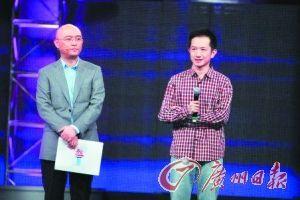 """男作家王欢上节目,被吴瑜逼问如何看待""""文人相轻""""。"""