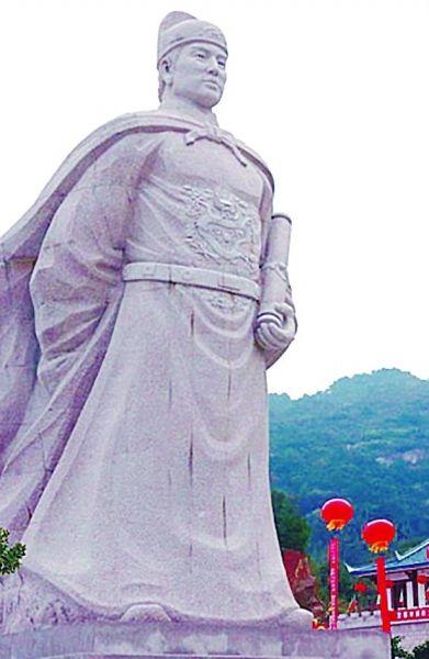 福建郑和航海馆石像。