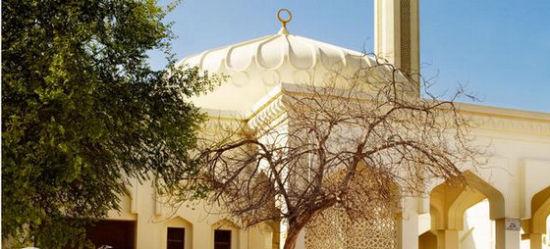沙漠中的海市蜃楼 迪拜图片