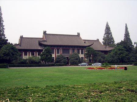 南京师范大学校园风景优美也