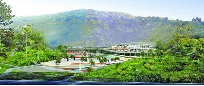 南京直立猿人大遗址博物馆设计外景。