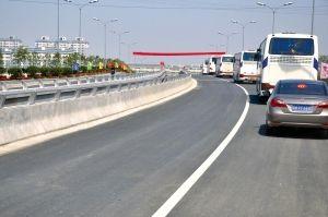 扬州市区抵达润扬大桥也多了一条快速通道