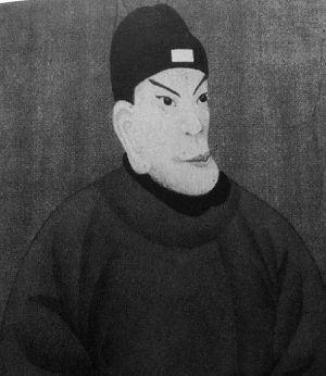 民间流传的朱元璋画像。