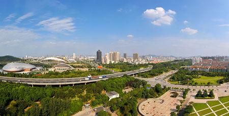 中国江阴全景图