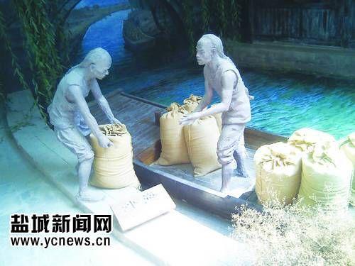 中国海盐博物馆内一景