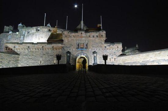 苏格兰爱丁堡城堡