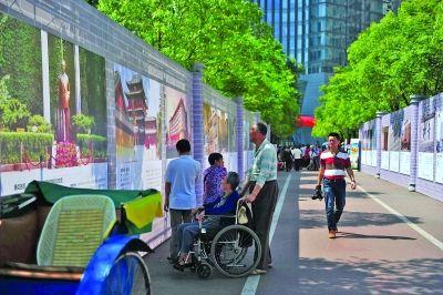 """昨天,长江路休闲旅游街区""""民国走廊""""正式亮相。"""