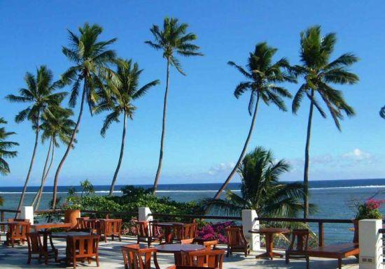 斐济是世界上最早迎来日出的地方