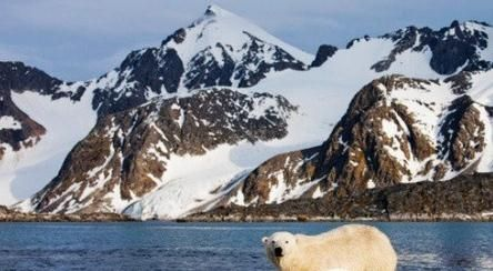 地处北极圈的斯瓦尔巴特群岛