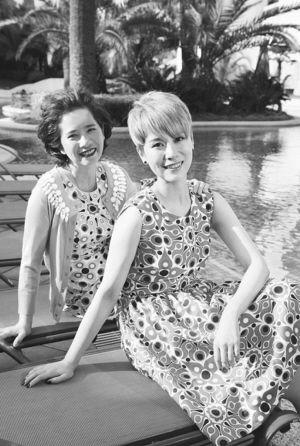 海清与母亲