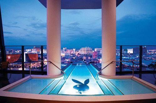 拉斯维加斯 Palms Casino 酒店的Hugh Hefner Sky Villa