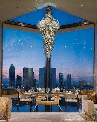 纽约 四季酒店的泰华纳楼顶套房