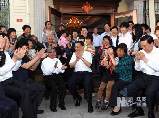 5月21日至22日,中共中央政治局常委、国务院副总理李克强在江苏考察。