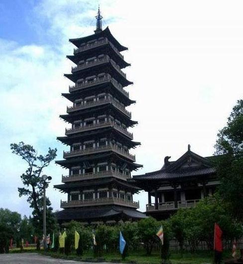 大明寺高有九层