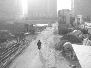 工地扬尘让市民痛苦不堪。