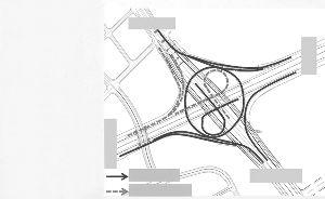 主城方向 三桥方向 二桥方向 江宁方向 开通匝道 暂未开通匝道