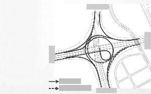 开通匝道 目前仅通南站匝道 主城方向 三桥方向 二桥方向 机场方向
