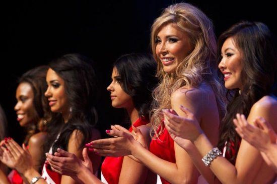 变性美女闪耀加拿大选美大赛