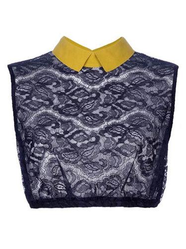 CARVEN蕾丝短上衣,价格:2,860 CNY