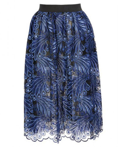 JUNYA WATANABE手工刺绣蕾丝长裙,价格:10,580 CNY
