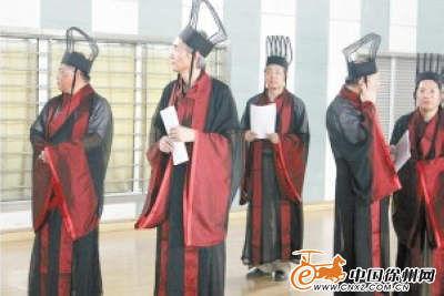 校领导们也将着汉服参加毕业典礼