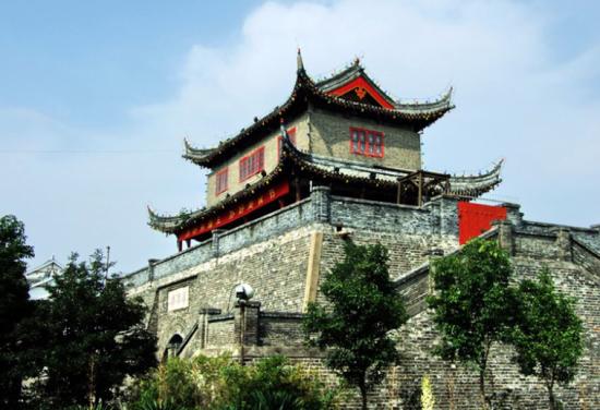 淮安它是一座古城 楚州镇淮楼