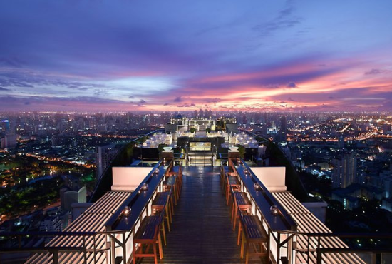 组图:盘点世界上最美的屋顶酒吧