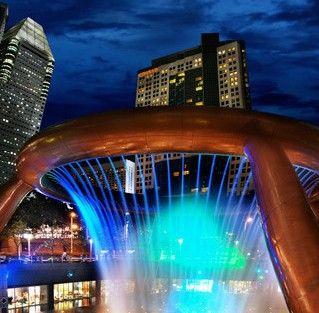 新加坡财富喷泉