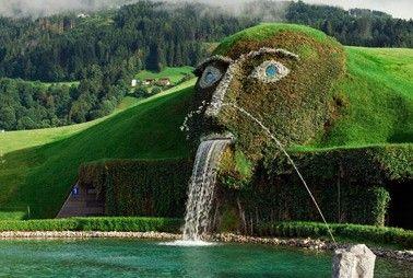 奥地利施华洛世奇喷泉