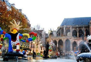 巴黎史特拉文斯基喷泉