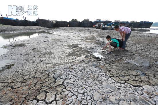 淮河旱情严重