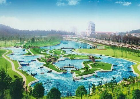 石刻公园位于全国重点风景名胜区——钟山风景区的湖