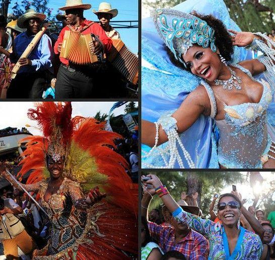 组图:全民派对纵情海滩辣女与猛男的狂欢节