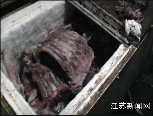 徐州两商贩卖病死猪肉5400余斤被抓