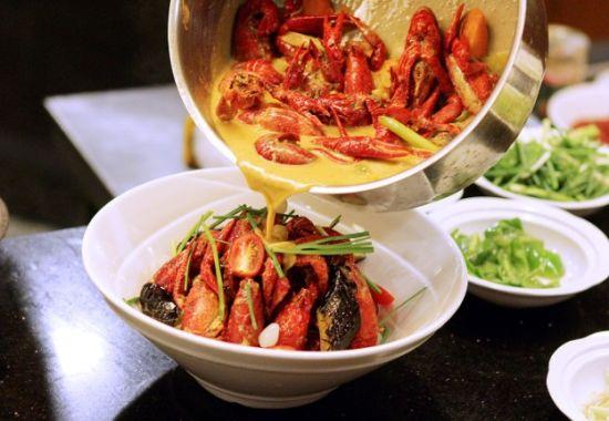马来西亚咖喱龙虾