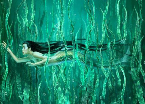 组图:海中女神变身记美国美人鱼培训基地