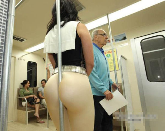 坐公交车请注意形象