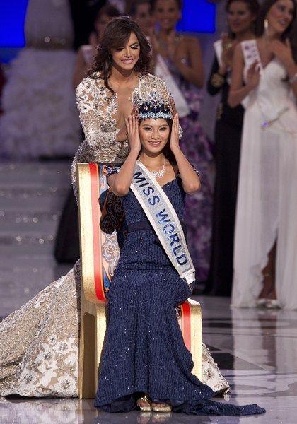中国小姐夺2012世界小姐冠军