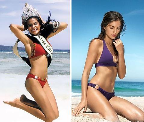 就是巴西美女保持体型苗条