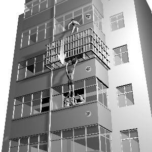 小区楼顶移动信号塔图片