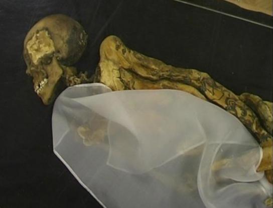 组图:十三具最可怕木乃伊解剖去内脏毛骨悚然